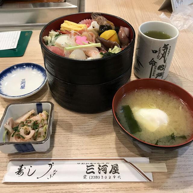 三河屋の料理の写真