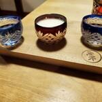 粟 - 日本酒飲み比べ