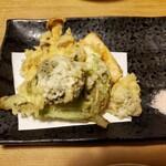粟 - 天ぷら