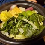 粟 - 野菜鍋