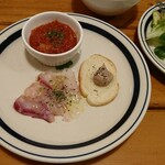 osteria SANZOKU - 前菜3種盛り合わせ