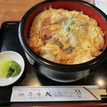 中村屋 - カツ丼セット