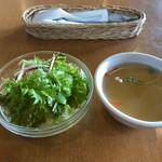 バイクス カフェ - サラダとスープ