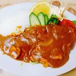 日の出食堂 - 料理写真:カツカレー