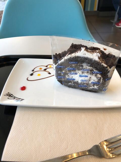 ロール ケーキ オレオ