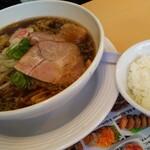 好麺食堂 - 料理写真:富山ブラックが今月の麺です!