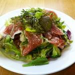 地下のニューコマツ - No.4 生ハムと旬野菜のサラダ