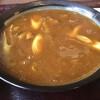 手打そば 京亭 - 料理写真:た〜ぷりのカレー汁。