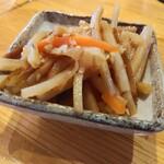 七輪炭火焼肉ホルモンすず - お通し200円