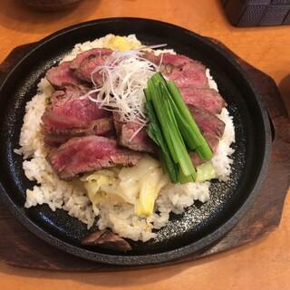 炭火焼ステーキ 黒牛