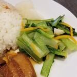sankyu-cha- - ルーロー飯定食
