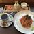 蔵の木 - 料理写真:カプレーゼセット1100円税込
