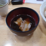 初後亭 - 肉汁うどん(つゆ)