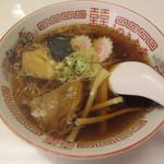 うのき食堂 - 半中華 300円