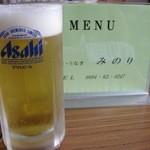12887998 - 生ビール。よく冷えてます!