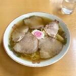 三吉屋 - ちゃしうめん(小)750円
