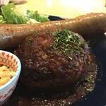 タベルトマル二条城 okatte - 肉汁溢れる ハンバーグ