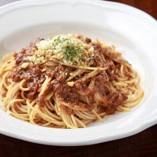 ランチではお手ごろ価格で本格イタリアンが楽しめます