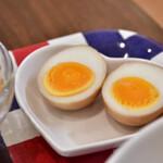 スポットライト 水餃子&飲茶 - 茶たまご@+100円:まぜごはんランチの追加オプションで。