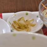 スポットライト 水餃子&飲茶 - 【まぜごはんランチ@950円】搾菜