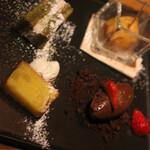 足袋のTOBICHI - 旬のフルーツを使った冷たいデザート、温かいデザート