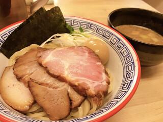 麺処 有彩 - 豚骨鶏魚介 特製つけ麺