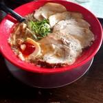 麺屋ジョニー - チャーシュー麺  (醤油)