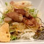 天ぷら専門 多から - サラダ♪
