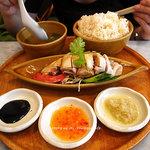 シンガポール海南鶏飯 - 1115-1チキンライス引