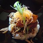 1289567 - フォワグラと牛フィレ肉ステーキ丼 ¥2,800