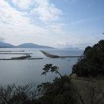 海香亭 - マリンテラスあしやは、海と隣接。良い景色です。