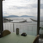 海香亭 - 窓からの景色。