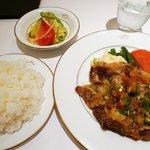 文化洋食店 - 近江牛リブロースのミニッツステーキ