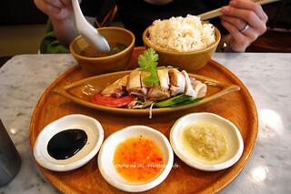 シンガポール海南鶏飯 水道橋店 - 1115-1チキンライス引
