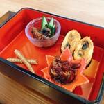Unagiteiichiza - 一座御膳の前菜