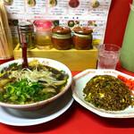 麺対軒 - ミニセット(醤油ラーメン・炒飯)