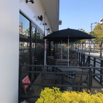 奈良食堂 - テラス席もあります