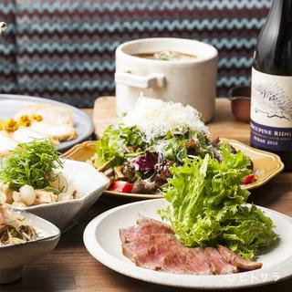 丁寧な料理と種類豊富なお酒で、大切な食事会にもぴったり