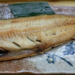 12891262 - 焼魚定食は、ほっけです。
