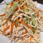 蓬溪閣 - 押し豆腐(干し豆腐)だけは絶対食べます この豆腐の食感が大好き 麺料理より美味しいかも