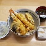 かに茶屋 - 天丼 800円