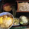 味奈登庵 - 料理写真:カツ丼セット大盛り970円