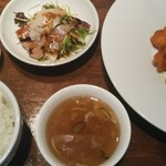 CHINA BISTRO imose - 20/3 お魚&海老チリランチ:850円