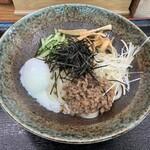 うどん 春日 - 料理写真:肉みそうどん【2020.4】