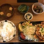 襷食堂 - チキン南蛮定食(¥770)