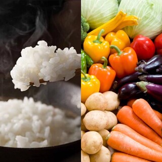 ~採れたて新鮮野菜、米はコシヒカリ、タレは自家製秘伝タレ~