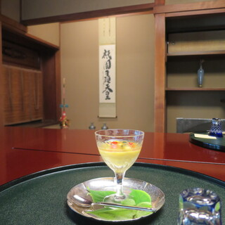 天ぷら以外のお料理で、四季の移ろいを大切に