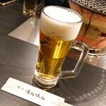 味ん味ん - 生ビール(一番搾り)