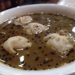 ネパール料理ANITA - スープモモ。