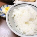 128941525 - ご飯とお新香